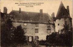 Le Chateau de Villeneuve Lembron. Aspect du Nord - Villeneuve