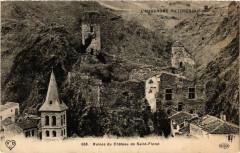 L'Auvergne Pittoresque Ruines du Chateau de Saint-Floret - Saint-Floret