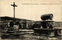 Combronde Le Tonneau et la Croix du Xve siecle - Combronde