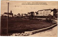 G. D'O -Vollore-Montagne-Entrée du Bourg par la Route de Noirétable - Vollore-Montagne