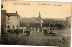 L'Auvergne Pittoresque - Mirefleurs - Place de l'Eglise - Mirefleurs