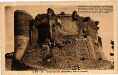 G. D'O - Chateau de Murols (cote Ouest) 63 Murol