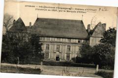 Auvergne-Env. d'Aiguesperse-Chateau d'Effiat (Construit en 1627 - Effiat