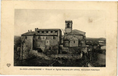 Saint-Dier d'Auvergne - Pieure et Eglise Romane - Saint-Dier-d'Auvergne