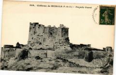 Chateau de Murols (P.-de-D.) - Facade Ouest 63 Murol