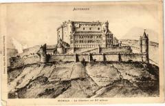 Auvergne - Murols - Le Chateau au Xi siecle 63 Murol