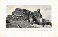 Polignac - pres Le Puy-en-Velay - Vue du Chateau-Fort - Polignac