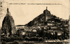 Le Puy-en-Velay Rochers d'Aiguilhe Corneille - Aiguilhe