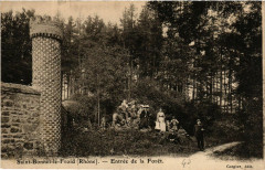 Saint Bonnet le Froid - Entrée de la Forét - Saint-Bonnet-le-Froid