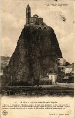 Le Velay Illustre - Le Puy - Le Rocher Saint-Michel d'Aiguilhe - Aiguilhe