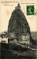 Le Puy-en-Velay (Hte-Loire) - Rocher Saint-Michel d'Aiguilhe - Aiguilhe