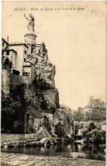 Le Puy - Rocher de Espaly et les bords de la Borne - Borne