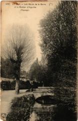 Le Puy - Les Bords de la Borne et le Rocher d'Aiguilhe (Paysage) - Borne