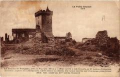 Le Donjon de Polignac, pres Le Puy (alt 806 m) - Tour carree a ... - Polignac