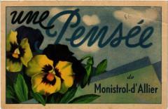 Une Pensee de Monistrol-d'Allier - Monistrol-d'Allier