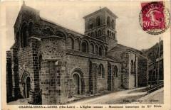 Chamalieres-sur-Loire (Hte-Loire) L'Eglise romane Mon. hist. du - Chamalières-sur-Loire