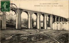 La Haute-Loire Ill.. Dunieres (800 m d'Alt) Le Viaduc de Faurie - Dunières