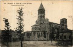 Abside de l'Eglise Saint-Julien - (Monument historique) - Brioude