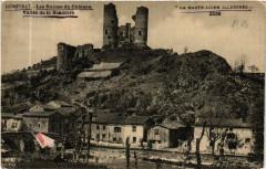 Domeyrat - Les Ruines du Chateau - Vallée de la Semouire - Domeyrat