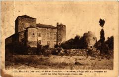 Beaulieu (Hte-Loire) alt 600 m Cure d'air - Le chateau d'Adiac (Xii - Beaulieu