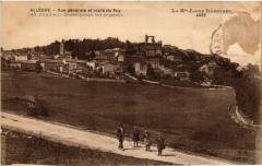Allegre - Vue generale et route du Puy (Alt 1093 m) - Station ... - Allègre