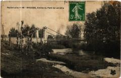 Haute-Loire - Brioude, Entree du Pont de Lamothe - Lamothe