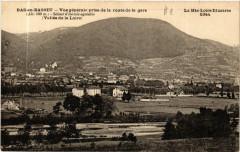 Bas-en-Basset - Vue generale prise de la route de la gare Alt 480 m - Bas-en-Basset