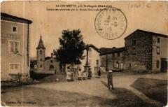 La Chomette, pres Paulhaguet (Hte-Loire) - Communas traversee par.. - Paulhaguet