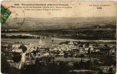 Vue generale Sud-Ouest prise de la Chomette -Belle station estivale - La Chomette