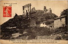 Le Chateau d'Artias (pres Retournac)-Ruines pittoresques sur un ... - Retournac