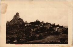 Leotoing (Hte-Loire) alt 600 m - Les ruines du Chateau feodal (Xii - Léotoing