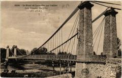 Le Pont de Lamothe sur l'Allier (pres Brioude) Hte-Loire (Alt 418m - Lamothe