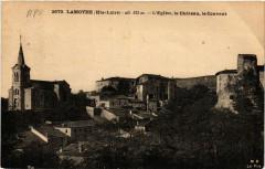 Lamothe (Hte-Loire) alt 425 m - L'Eglise le Chateau le Couvent - Lamothe