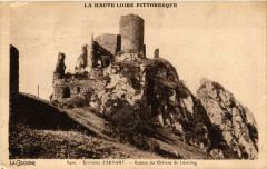 La Cigogne - Env. d'Arvant - Ruines du Chateau de Leotoing - Léotoing