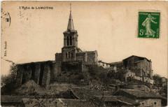L' Eglise de Lamothe - Lamothe