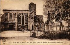 Monlet (Hte-Loire) - Mon. hist. classe - Place de l'Eglise et - Monlet