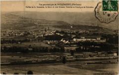 Vue panoramique de Paulhaguet (Hte-Loire) - Vallée de la Senouire - Paulhaguet