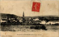 Vue générale de Paulhaguet (Haute-Loire) - Cote Sud - Paulhaguet