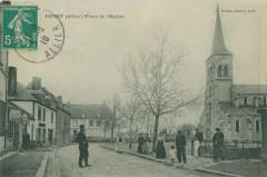 Place de l'Eglise - Doyet
