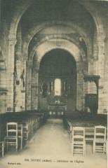Intérieur de l'Eglise - Doyet