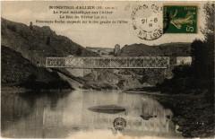 Monistrol-d'Allier (Alt. 500 m) - Le Pont metallique sur l'Allier - Monistrol-d'Allier