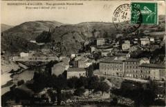 Monistrol - d'Allier - Vue générale Nord-Ouest - Pont sur l'Allier - Monistrol-d'Allier