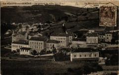 La Seauve-sur-Semene - La gare et la ville (alt 735 m) - La Séauve-sur-Semène