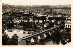 Retournac Hte-Loire Alt 565 m - Vue générale et le Pont sur - Retournac