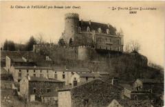 Le Chateau de Paulhac Pres Brioude (cote Ouest) - La Haute-Loire - Paulhac