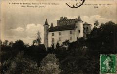 Le Chateau de Torsiac dominant la Vallée de l'Allagnon face a - Torsiac