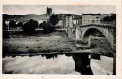 Lavoute-Chilhac (Hte-Loire) Alt 470 m - Le Pont et le Quartier... - Lavoûte-Chilhac