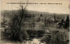 Le Chambon-de-Tence (Hte-Loire) alt 960 m - Salettes et le Pont - Salettes