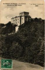 Le Chateau de Poinsac Pres Coubon (Donjon du Xiii siecle) - Coubon