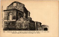 Env. du Puy - L'Eglise romane de Saint-Vidal - Saint-Vidal
